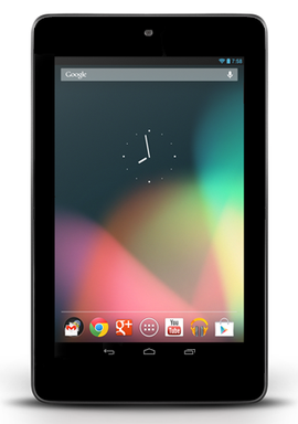 Nexus 7を店頭で見てきたWEBブラウザ解像度