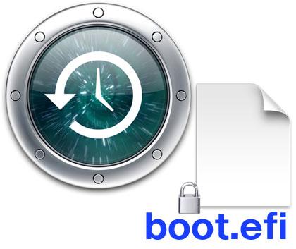 MacのTime Machine過去ファイル削除はやめようboot.efiが消えない